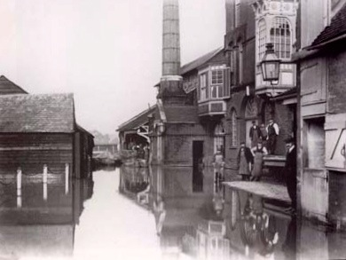 Harveys flood 1909